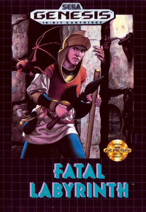 Fatal Labyrinth cover