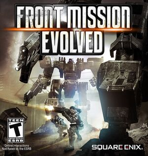 Front Mission Evolved cover