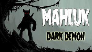 Mahluk: Dark Demon cover