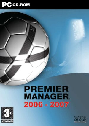 Premier Manager 2006-2007 cover