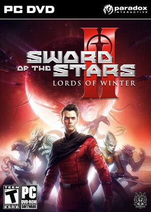 Sword of the Stars II: Lords of Winter cover
