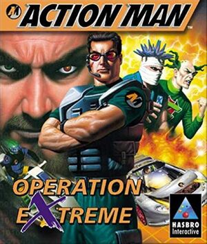 Action Man: Operation Extreme cover