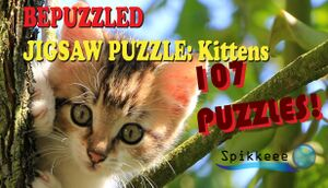 Bepuzzled Kittens Jigsaw Puzzle cover