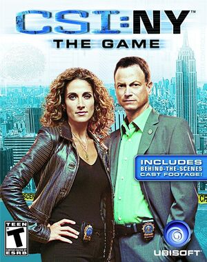 CSI: NY - The Game cover