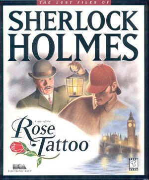 The Lost Files of Sherlock Holmes: Case of the Rose Tattoo cover