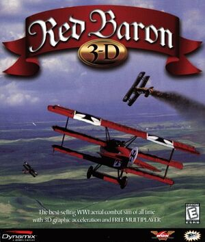 Red Baron 3D cover
