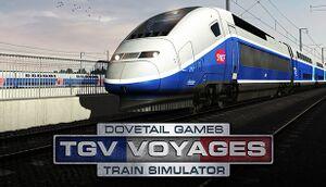 TGV Voyages Train Simulator cover