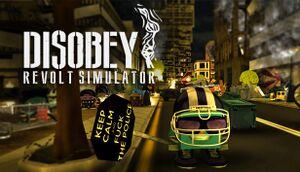 Disobey: Revolt Simulator cover