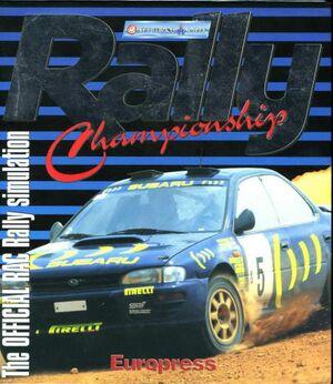 Network Q RAC Rally Championship cover