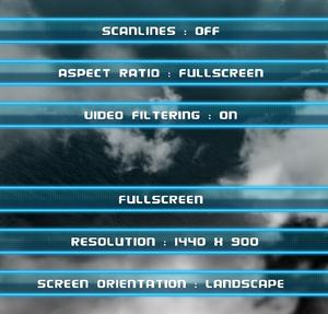 General settings.