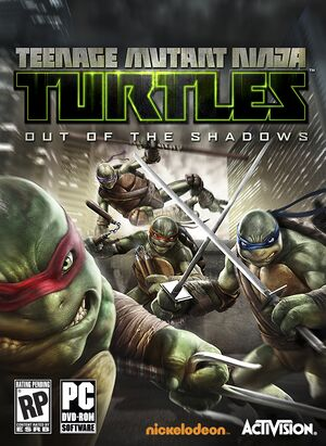 Teenage Mutant Ninja Turtles:Out of the Shadows cover