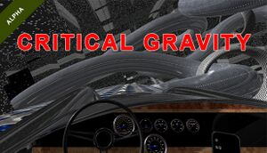 Critical Gravity cover