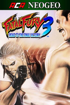 Fatal Fury 3: Road to the Final Victory cover