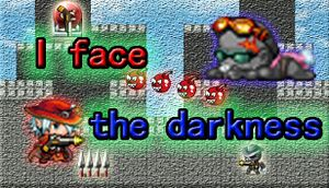 I face the darkness cover