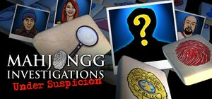 Mahjongg Investigations: Under Suspicion cover