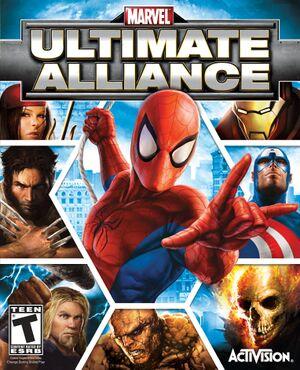 Marvel: Ultimate Alliance cover