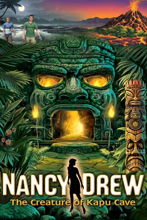 Nancy Drew: The Creature of Kapu Cave cover