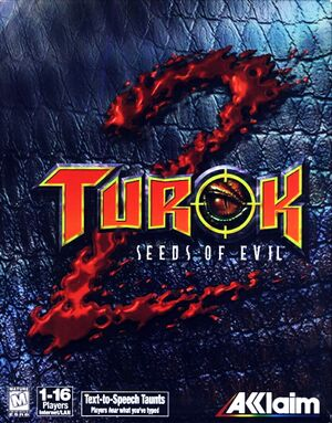 Turok 2: Seeds of Evil cover