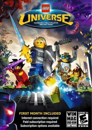 Lego Universe cover