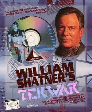 William Shatner's TekWar cover