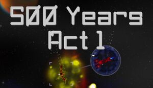 500 Years Act 1 cover