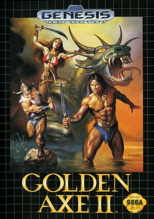 Golden Axe II cover