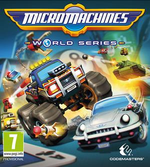 Micro Machines World Series cover