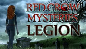 Red Crow Mysteries: Legion cover