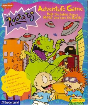 Rugrats Adventure Game cover
