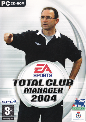 Total Club Manager 2004 cover