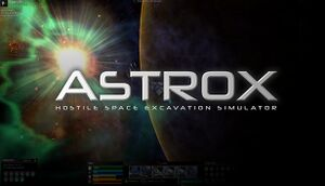 Astrox: Hostile Space Excavation cover