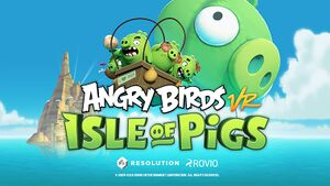 Angry Birds VR: Isle of Pigs cover
