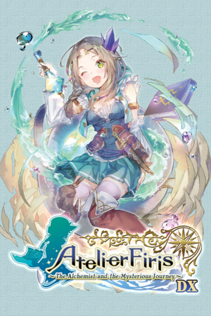 Atelier Firis: The Alchemist and the Mysterious Journey DX cover