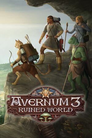 Avernum 3: Ruined World cover