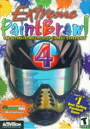 Extreme Paintbrawl 4 cover