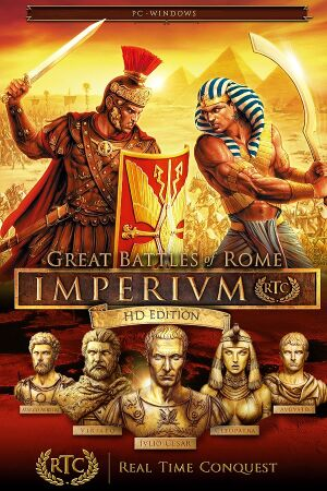 Imperivm: Great Battles of Rome HD Edition cover