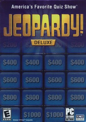 Jeopardy! Deluxe cover
