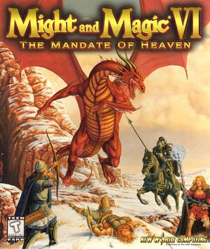 Might and Magic VI: The Mandate of Heaven cover