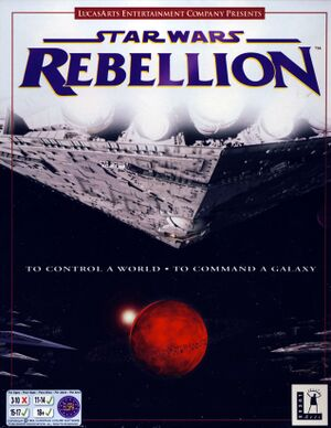 Star Wars: Rebellion cover