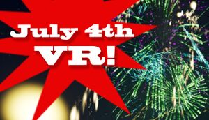 4th of July VR cover