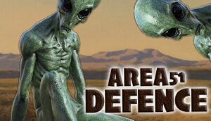 AREA 51 - DEFENCE cover