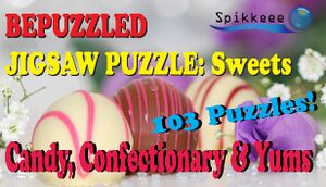 Bepuzzled Jigsaw Puzzle: Sweets cover