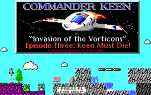 Commander Keen in Keen Must Die! cover