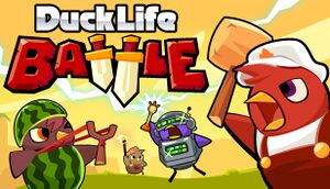Duck Life: Battle cover