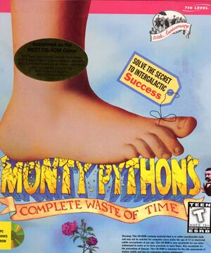 Monty Python's Complete Waste of Time cover