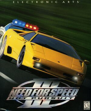 Need for Speed III: Hot Pursuit cover