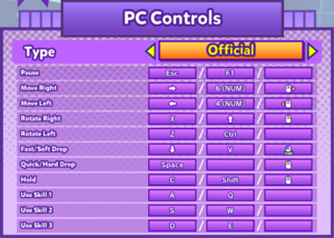 Keyboard and Mouse bindings (Official)