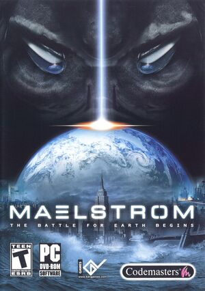 Maelstrom: The Battle for Earth Begins cover