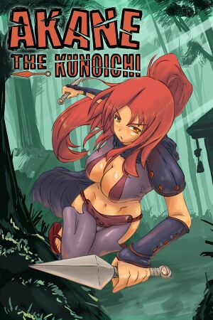 Akane the Kunoichi cover.jpg