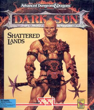Dark Sun: Shattered Lands cover
